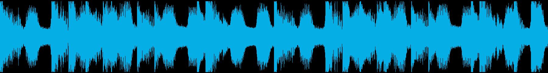 Dubstep bpm140Loopの再生済みの波形