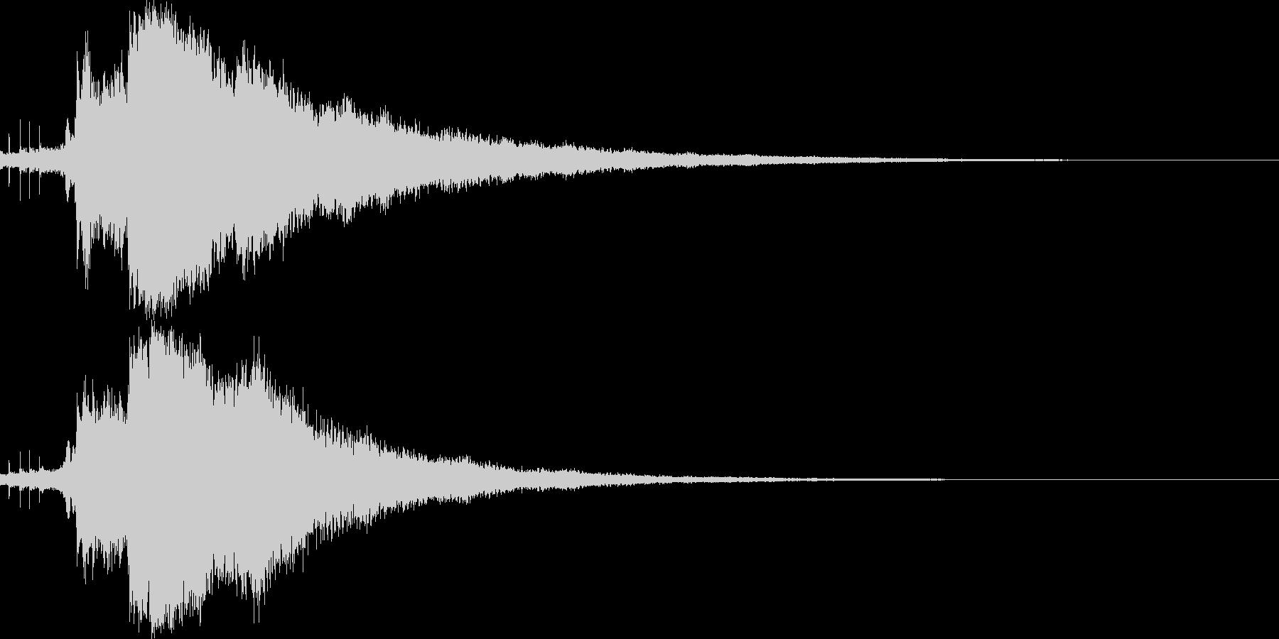 キラキラ☆シャキーン(輝きや魔法等)7bの未再生の波形