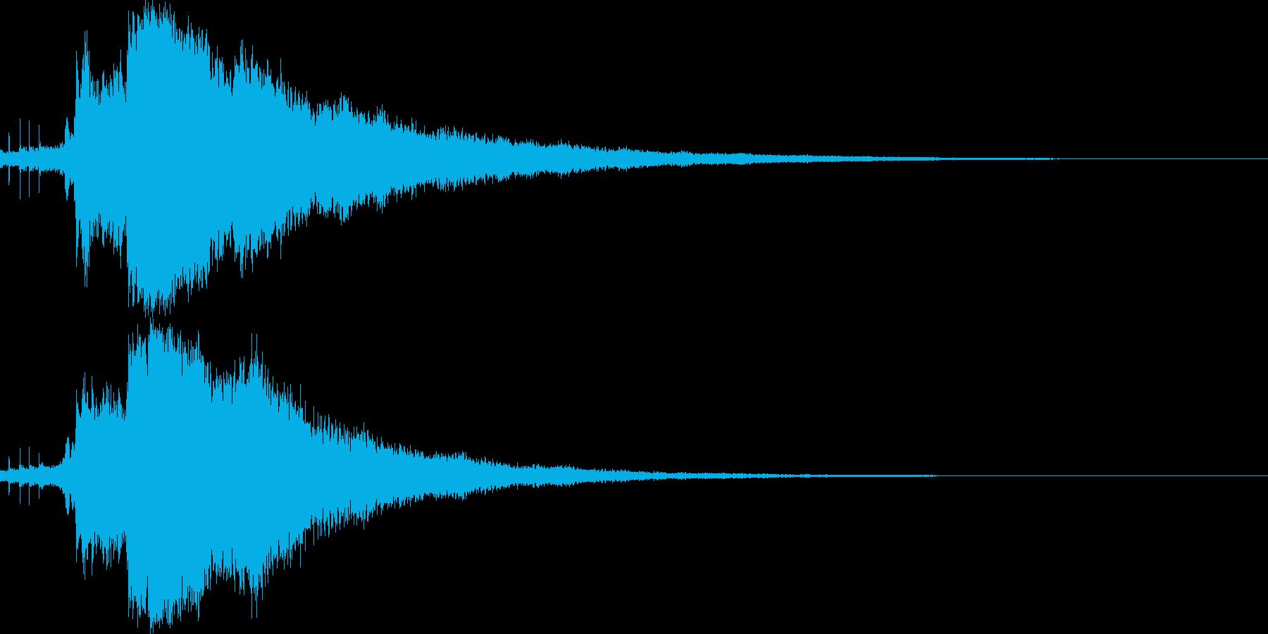 キラキラ☆シャキーン(輝きや魔法等)7bの再生済みの波形