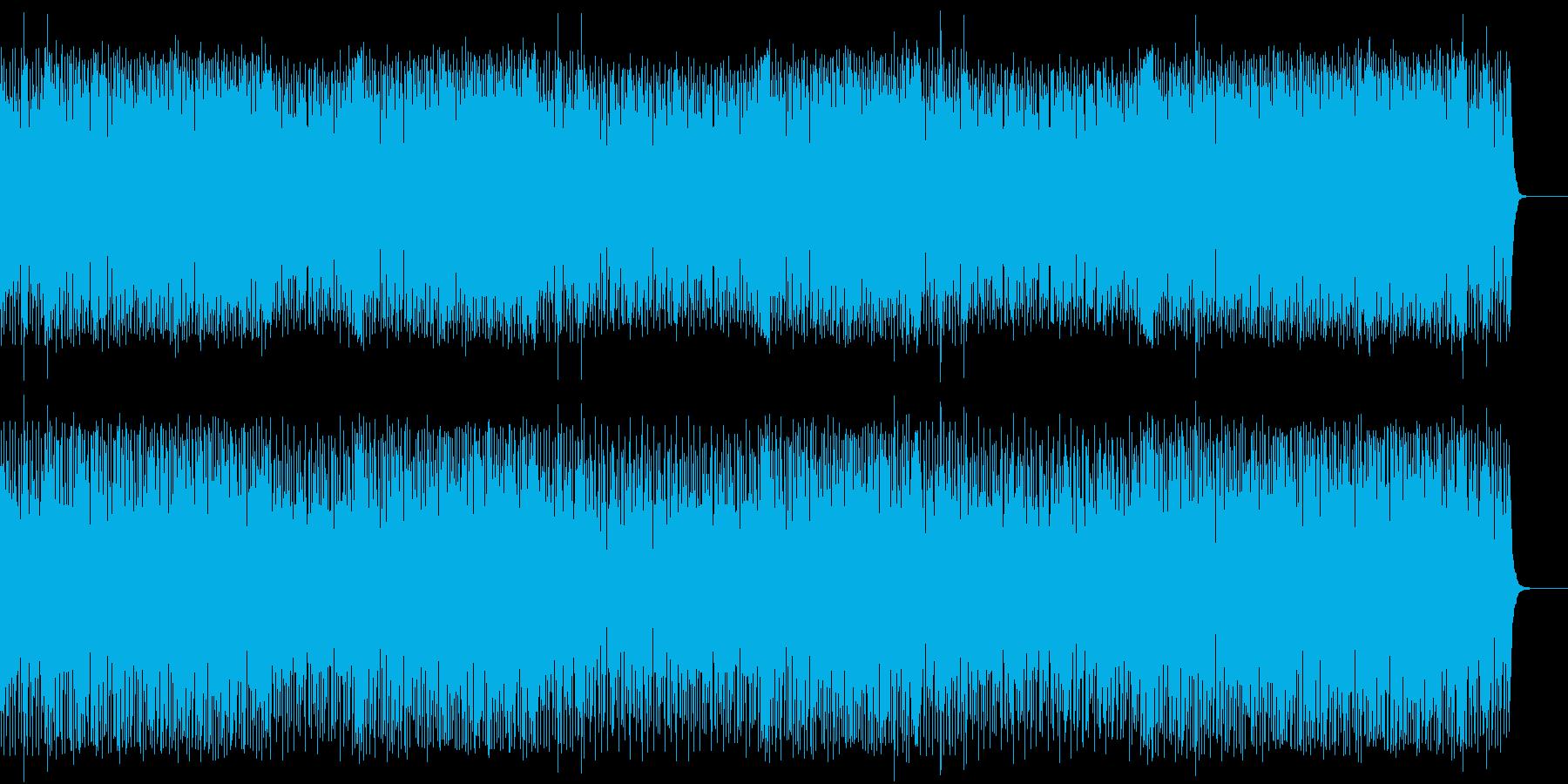 シュプールを描くポップ(フルサイズ)の再生済みの波形