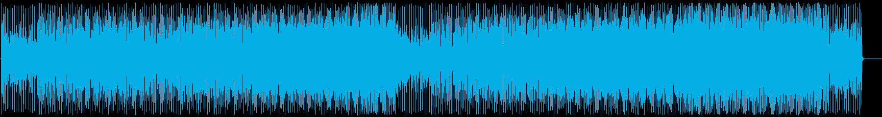 ノリの良いクラブダンスチューンの再生済みの波形
