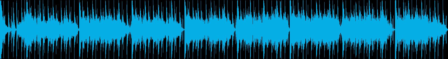 【ループ】あやしい雰囲気が漂うインド風の再生済みの波形