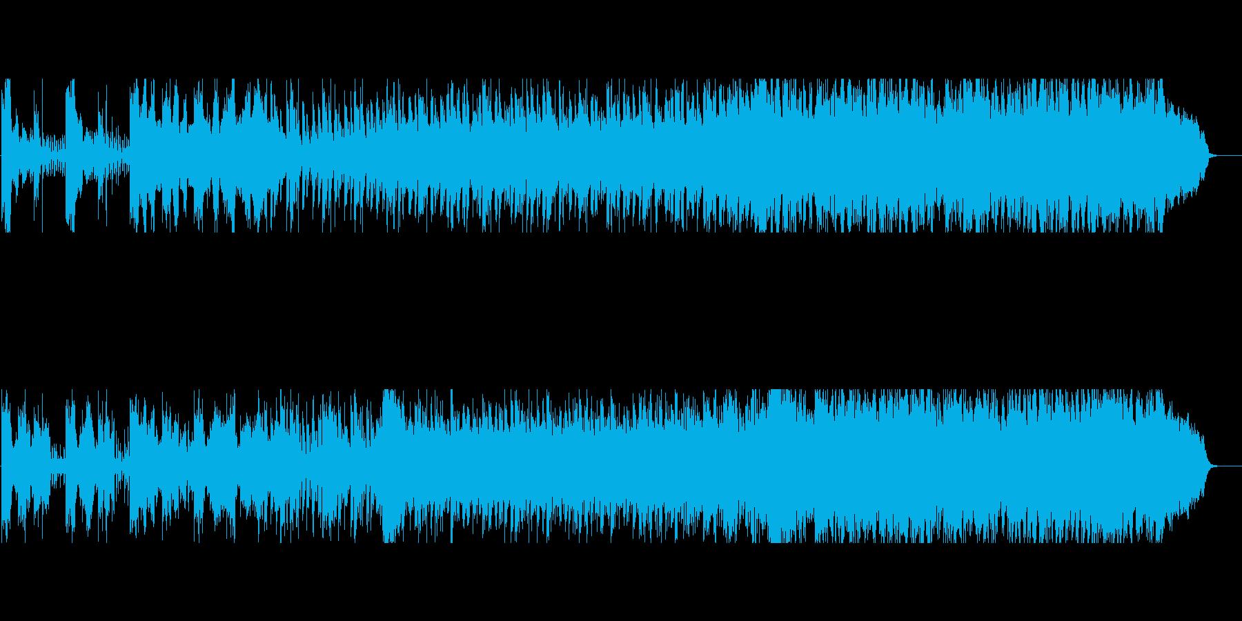 退廃的なエレクトロと官能的なストリングスの再生済みの波形