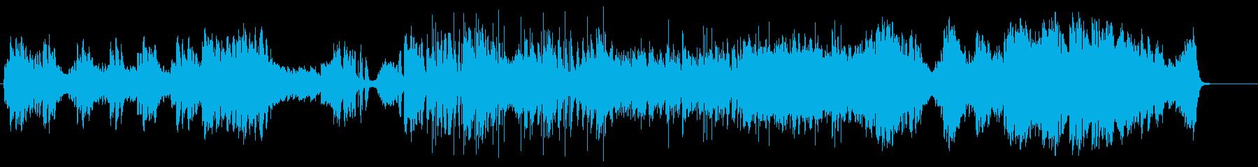 中世RPG村・森の幻想的なBGMの再生済みの波形