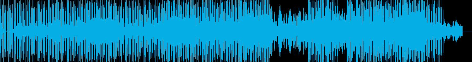 pianoメインなbreakbeatsの再生済みの波形