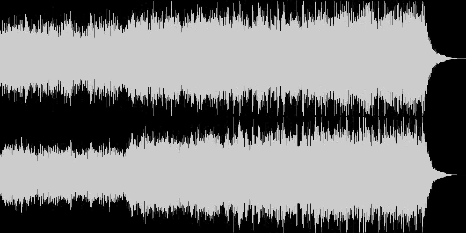 神秘的なシンセボーカルと古楽器の幻想曲の未再生の波形