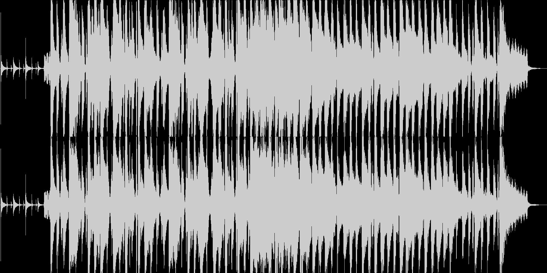 ほのぼのとした日常インストの未再生の波形