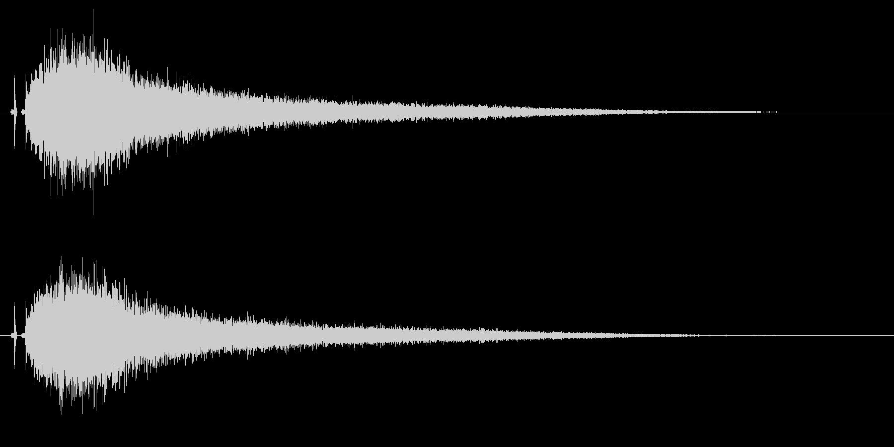 【チャイナシンバル2】中国風な演出に最適の未再生の波形