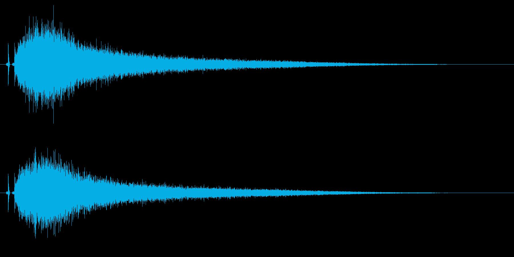 【チャイナシンバル2】中国風な演出に最適の再生済みの波形
