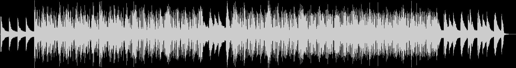 都会的なピアノインストの未再生の波形