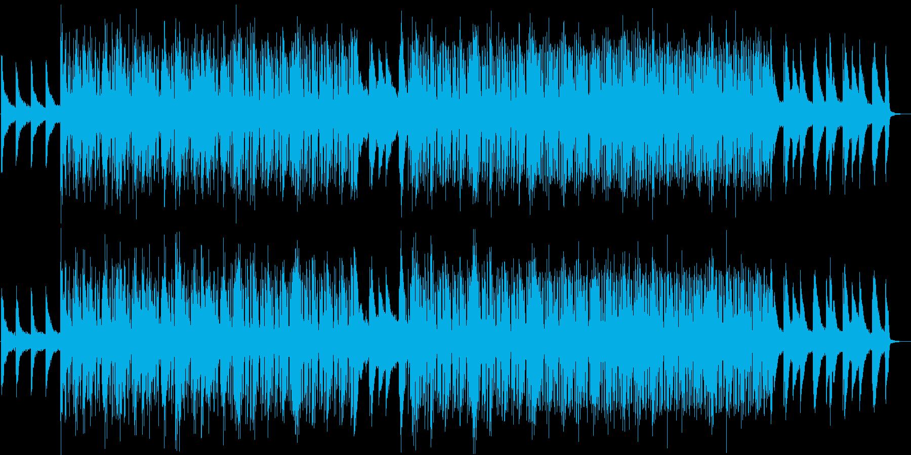 都会的なピアノインストの再生済みの波形