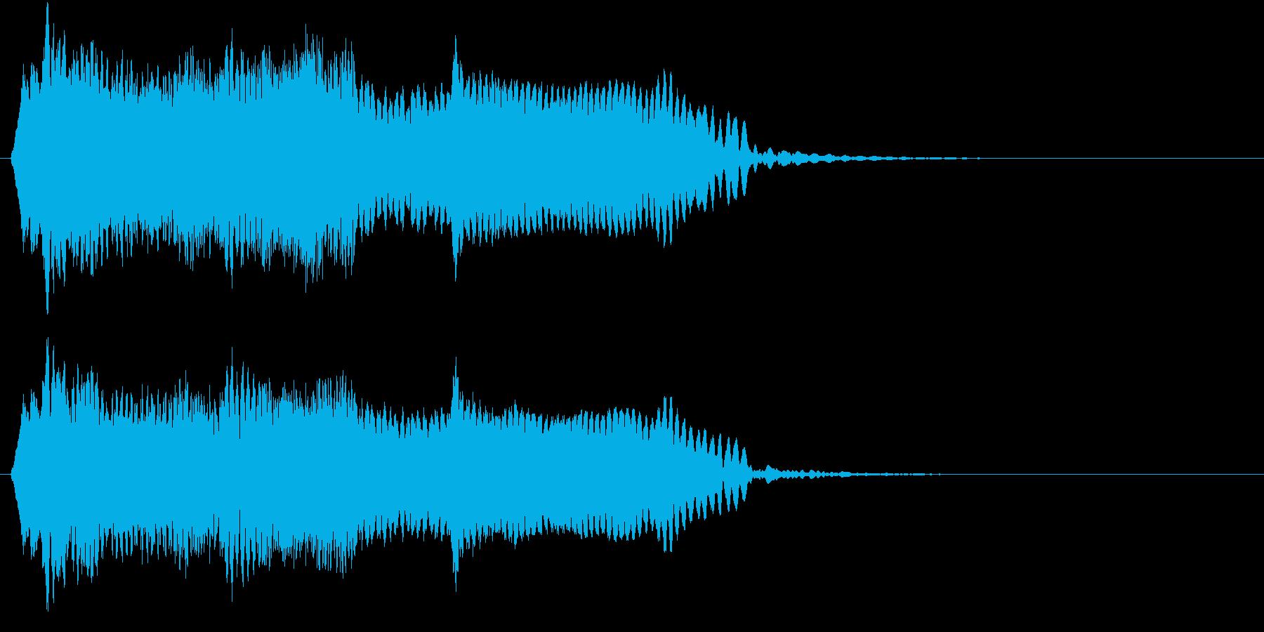 音侍SE「尺八フレーズ1」エニグマ音13の再生済みの波形