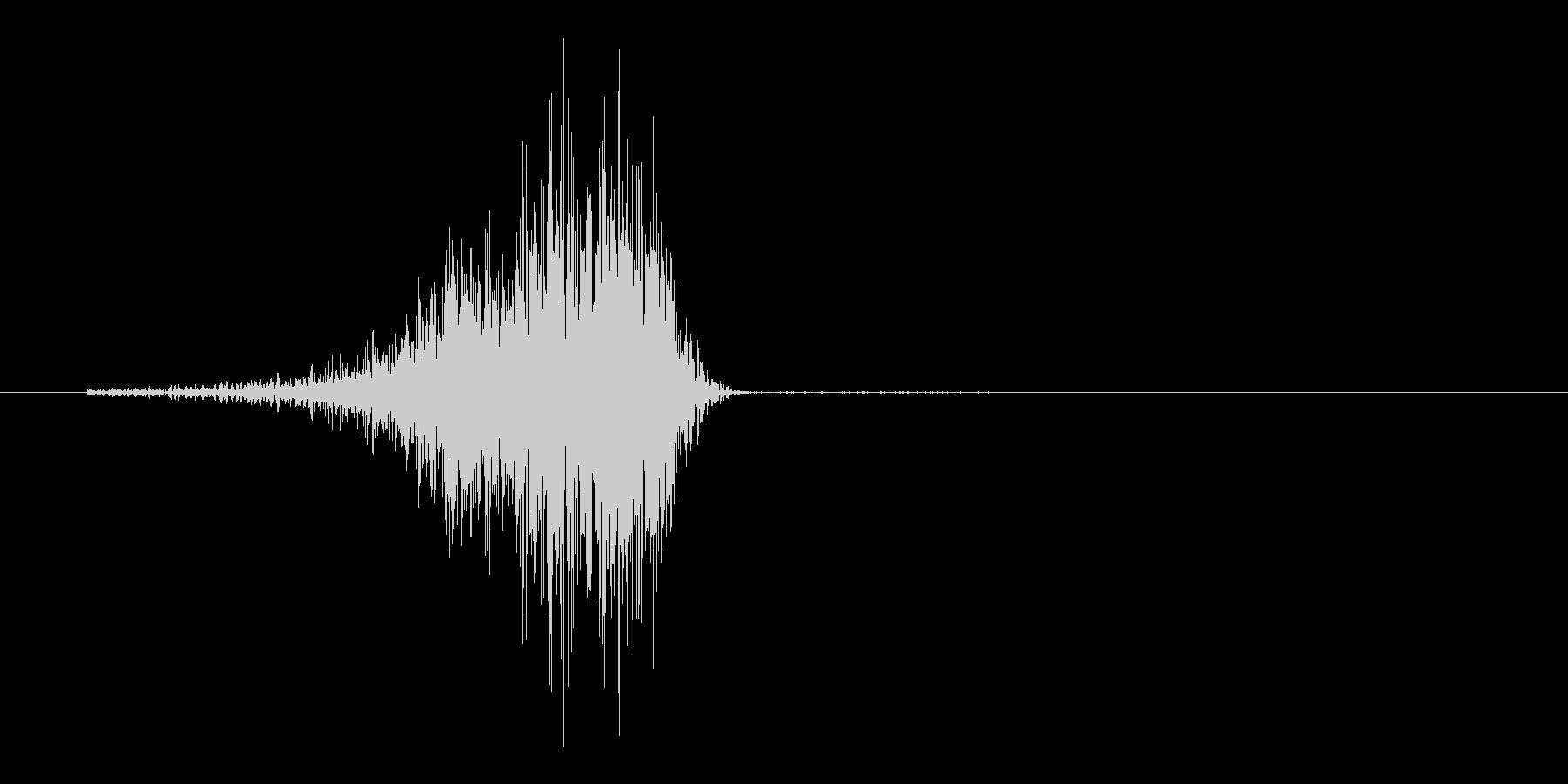 シュバッ(弓矢、攻撃、刺さる)の未再生の波形