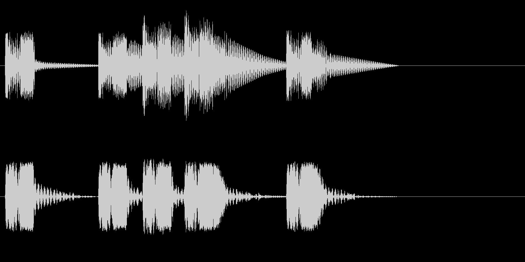 ロボットサウンド 機械音11の未再生の波形