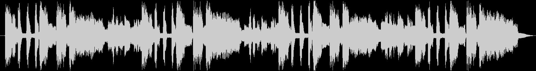ファンキーなエレピ音源の未再生の波形