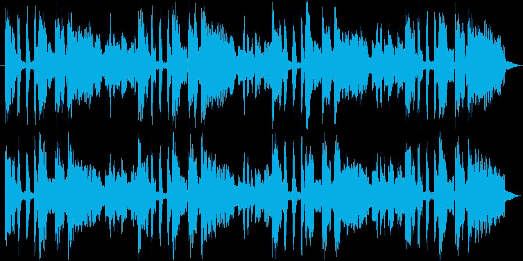ファンキーなエレピ音源の再生済みの波形