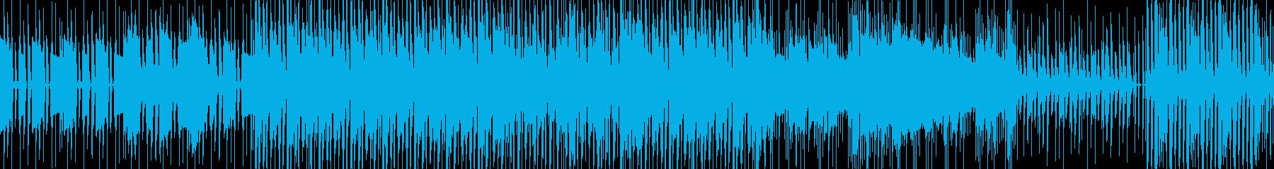 【ループ仕様】脱力系エレクトロニカの再生済みの波形
