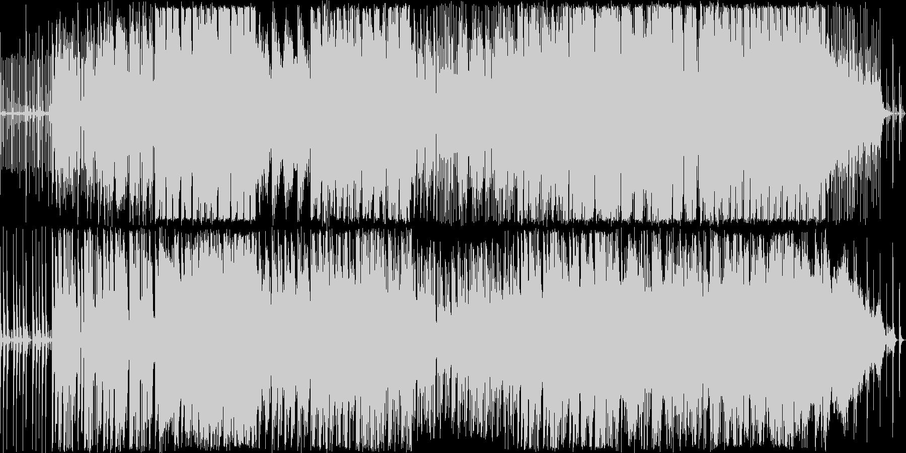 変わったリズムにのってユニークなキャラ…の未再生の波形