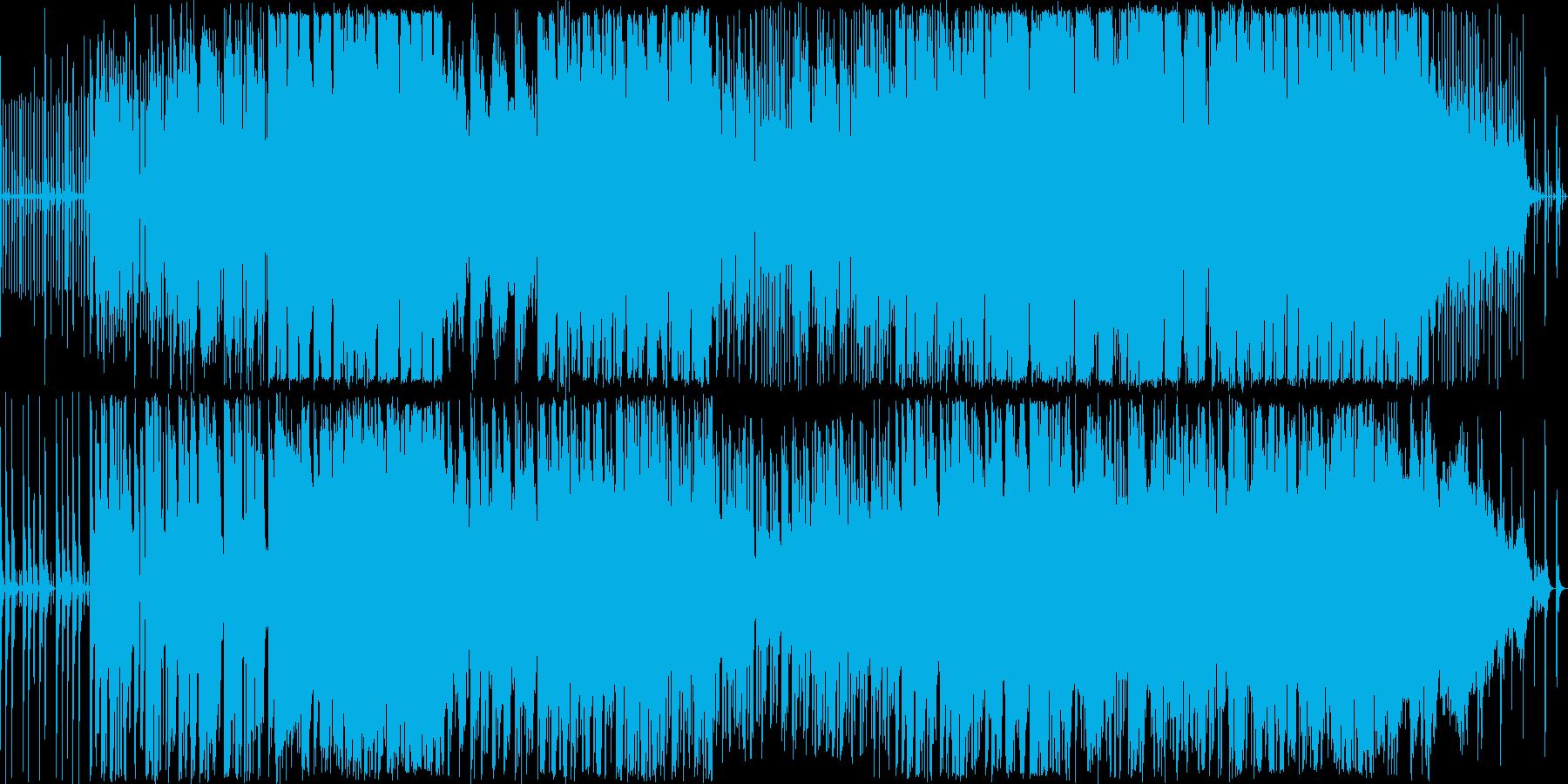 変わったリズムにのってユニークなキャラ…の再生済みの波形
