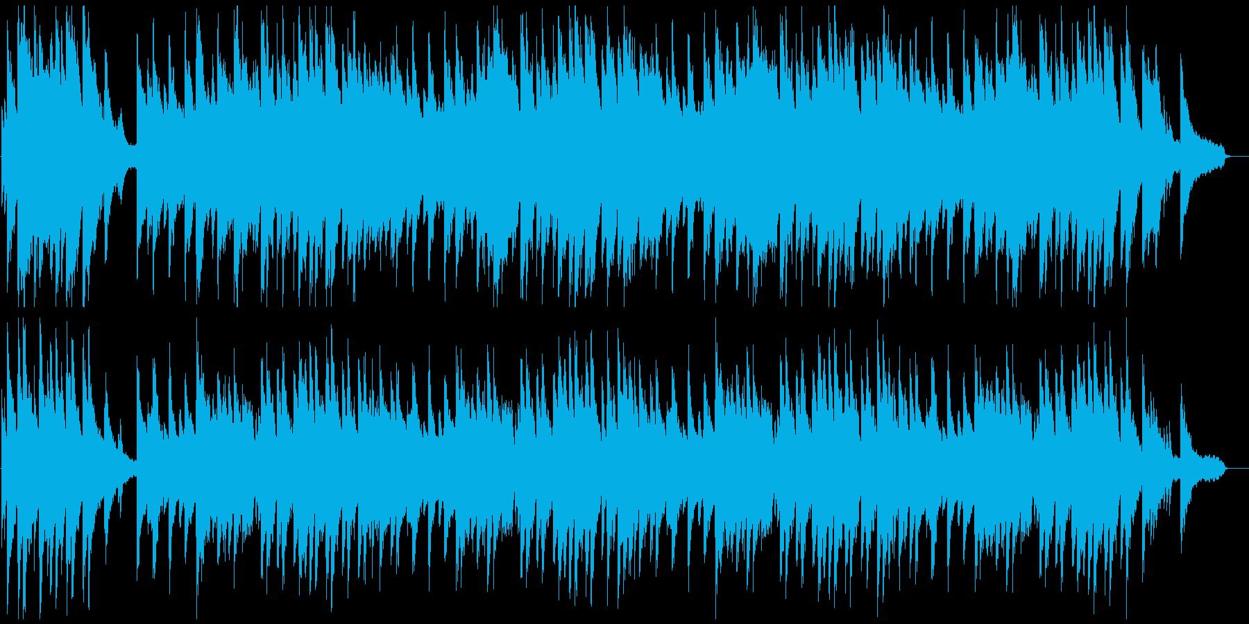 アメイジンググレイス ピアノ伴奏の再生済みの波形