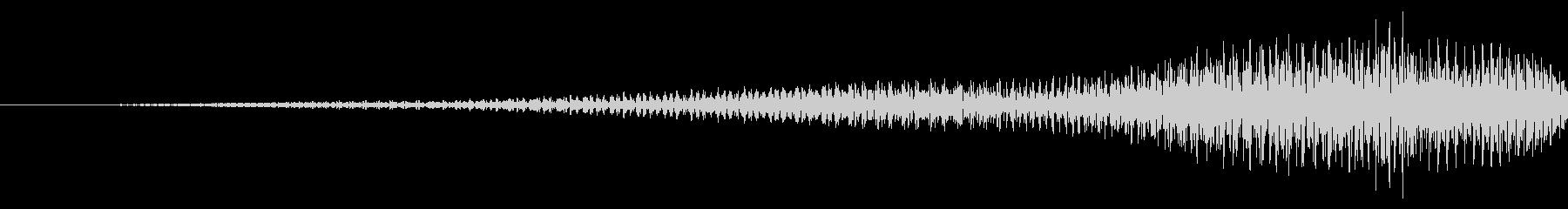 戻る/リバース/電子音の未再生の波形