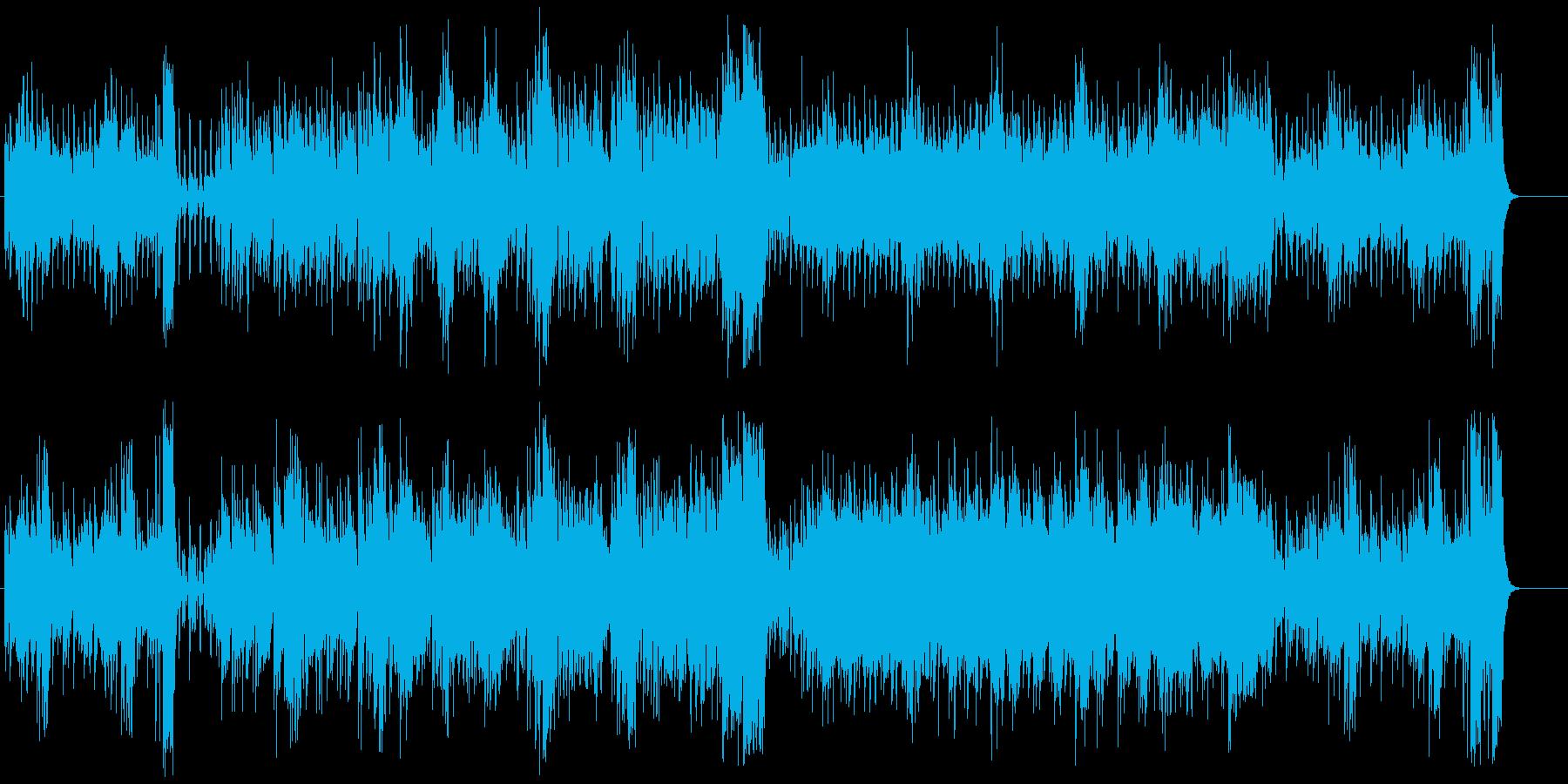 「うきうき」を絵に描いた様なポップの再生済みの波形