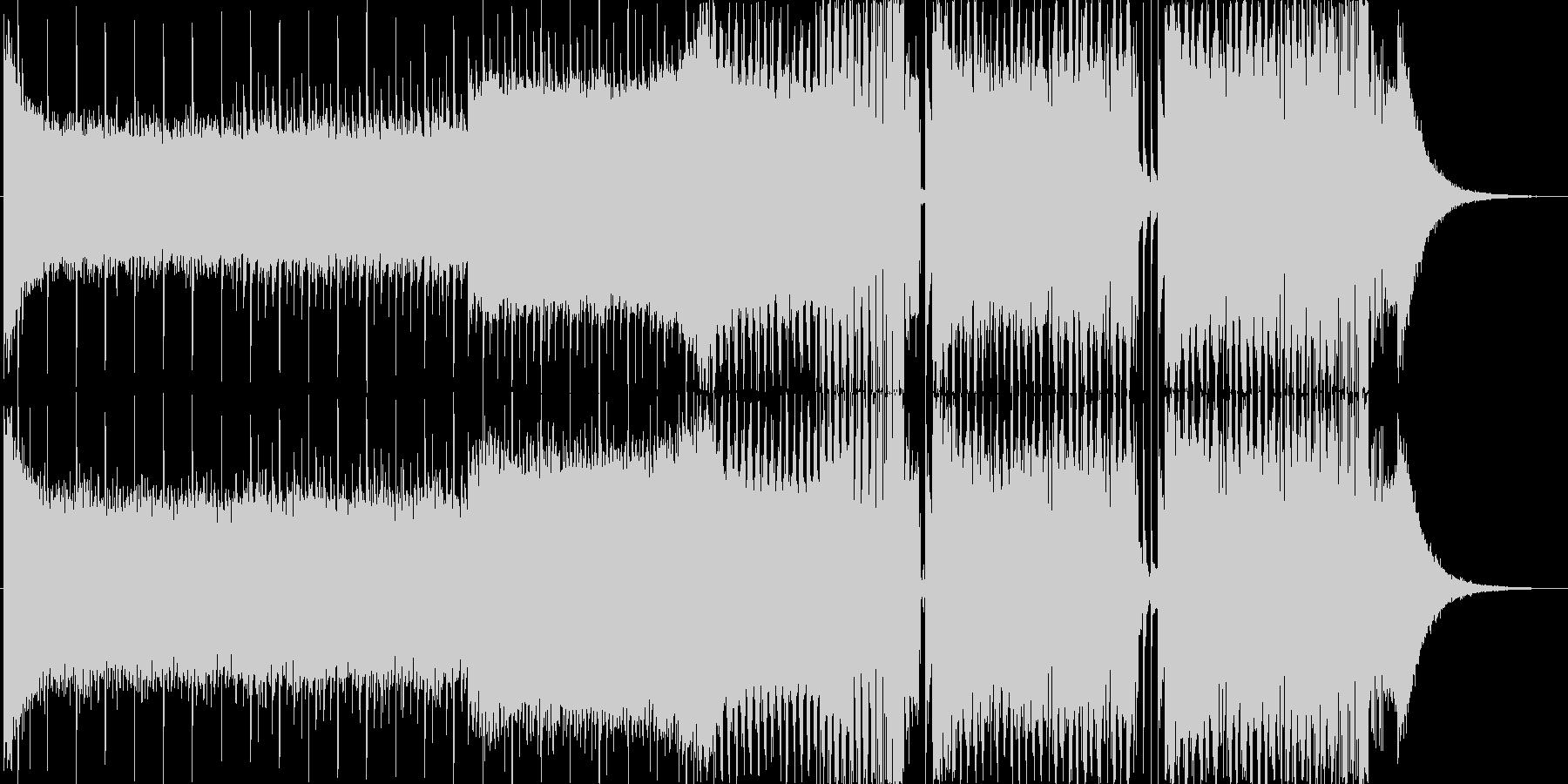 EDMクラブ系ダンスミュージック_3の未再生の波形