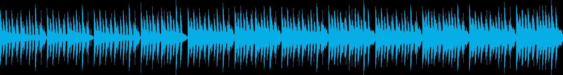 悲しいけれど前を向いてな曲(ループ仕様)の再生済みの波形