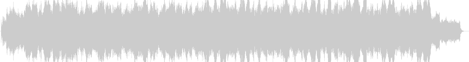 ワルツ薔薇色ときめきループ音源の未再生の波形