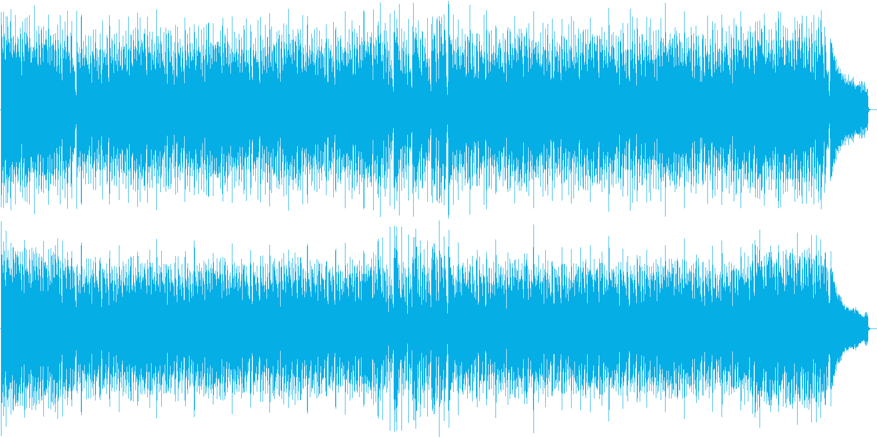 元気良くパワフルなアコースティックポップの再生済みの波形