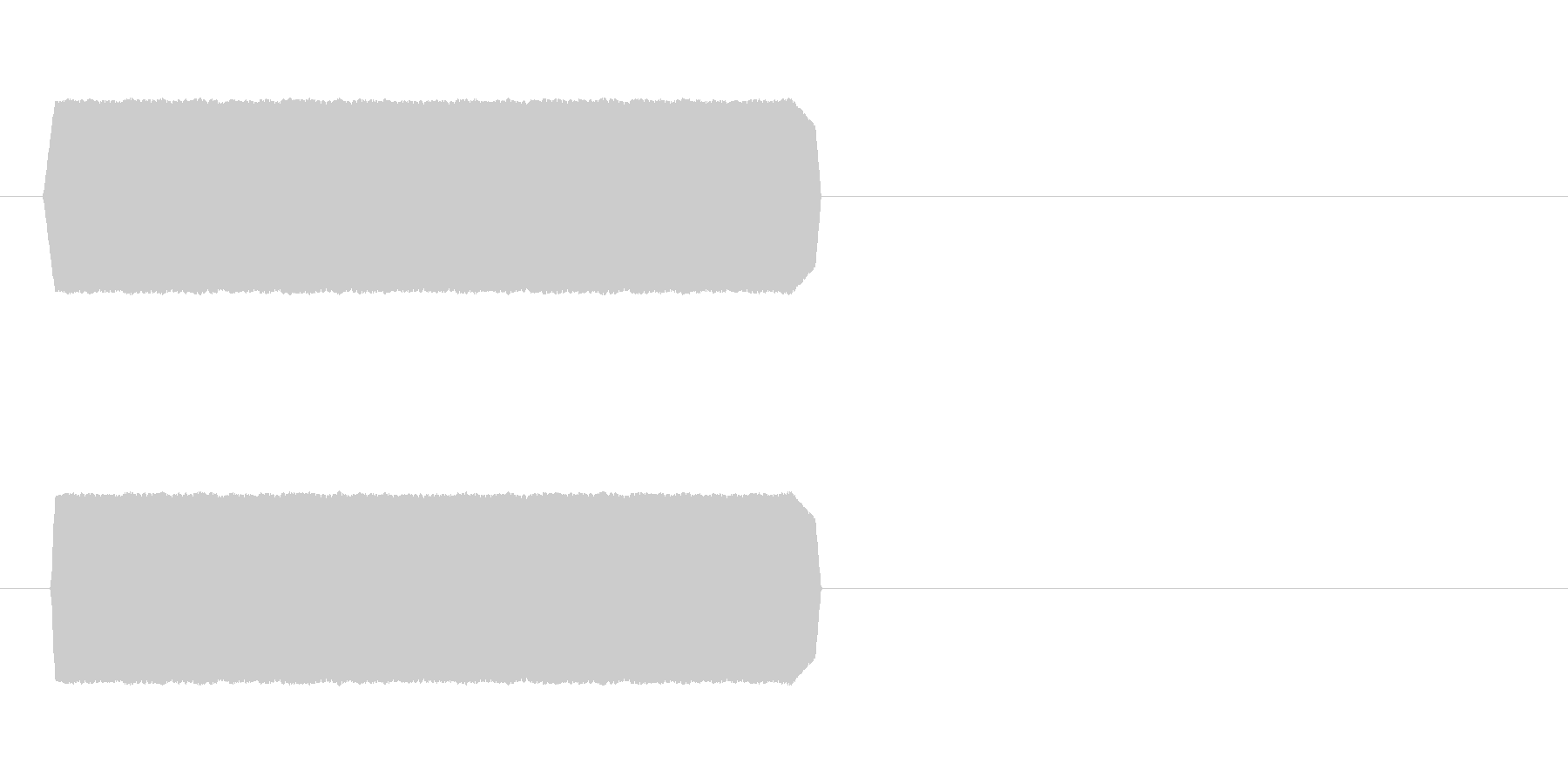 通話中の音や留守電のメッセージ音の未再生の波形