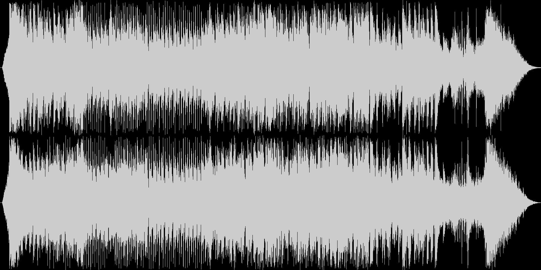 和風とディスコを合わせたような楽曲です…の未再生の波形