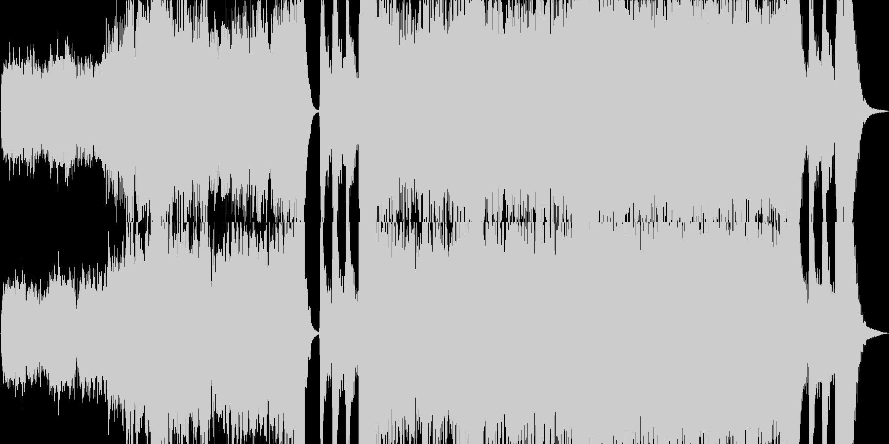 【ドラム無し】エピック・オーケ…旅立ちの未再生の波形