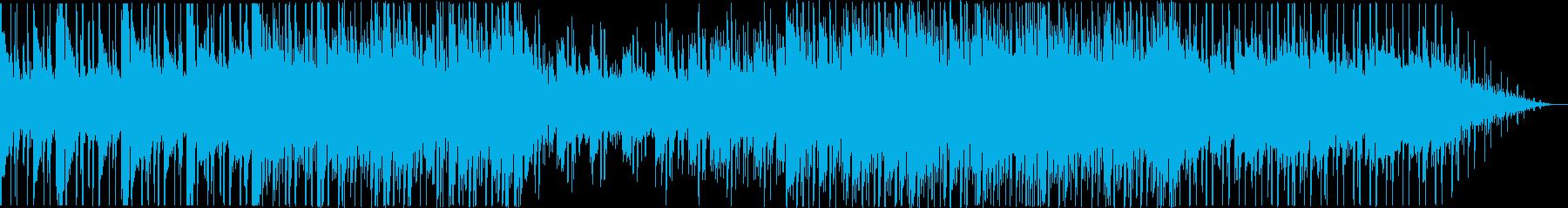 シンセ/落ち着いた曲調/おしゃれな雰囲気の再生済みの波形