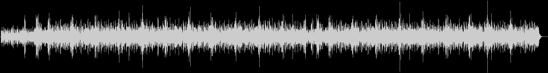 涼しげなシンセサイザー系サウンドの未再生の波形