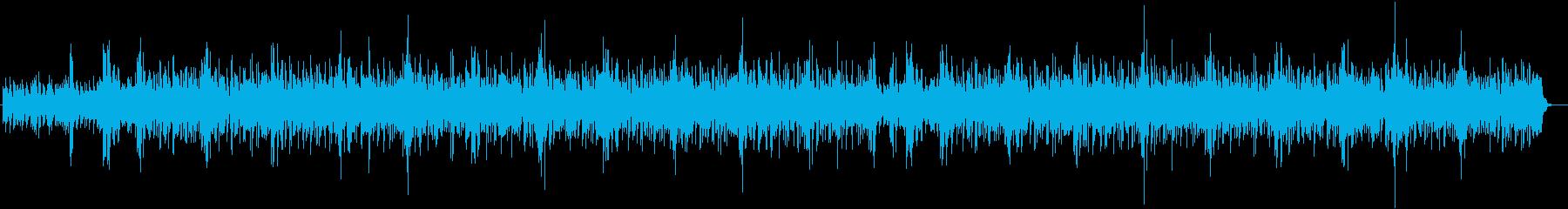 涼しげなシンセサイザー系サウンドの再生済みの波形