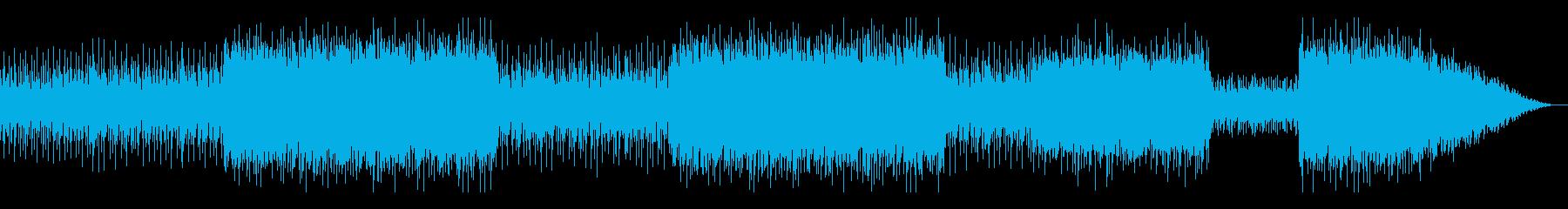 古代中国や和風のバトル 古典音楽+前衛の再生済みの波形