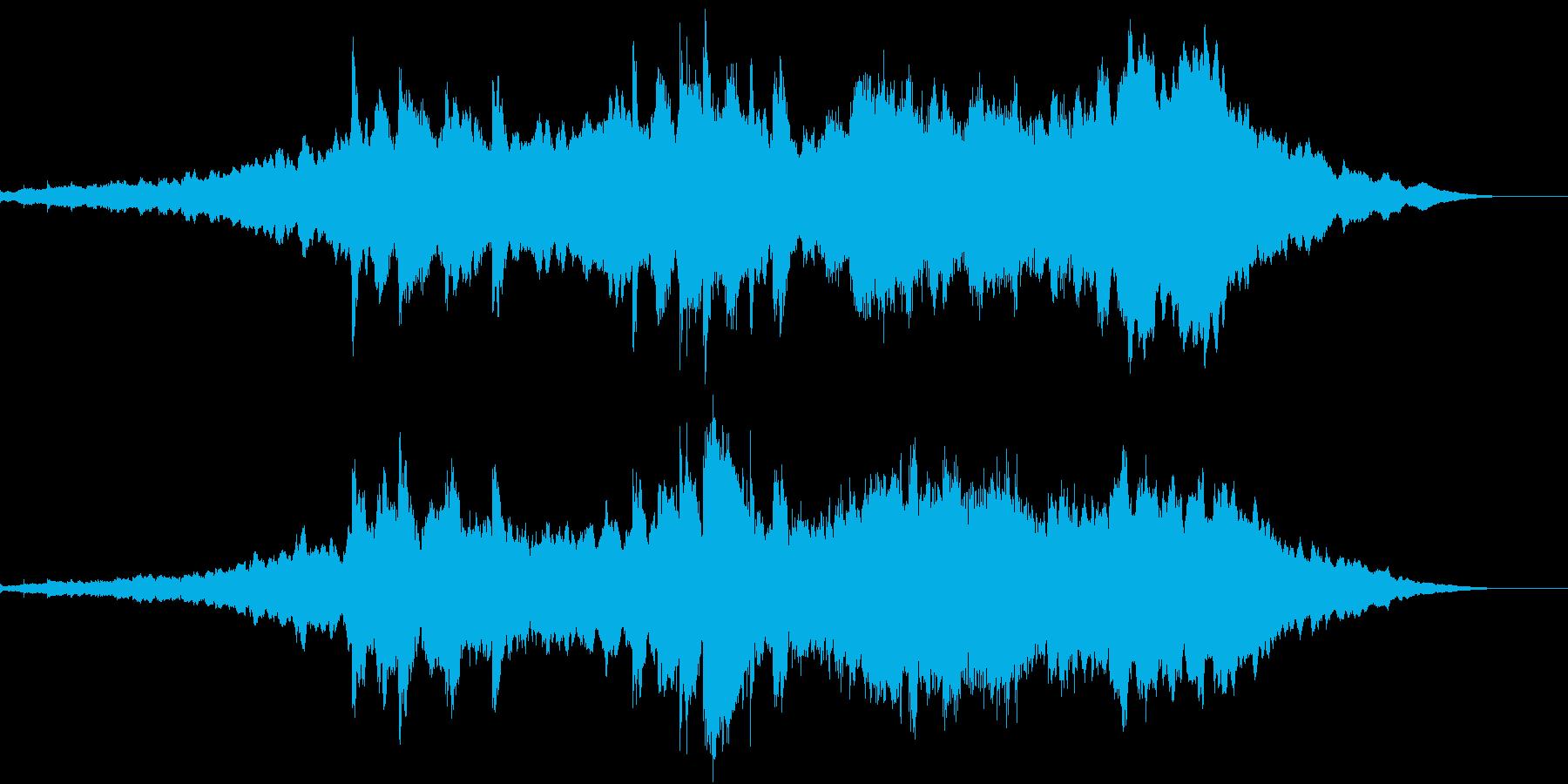 映画的イントロダクションなサウンドの再生済みの波形