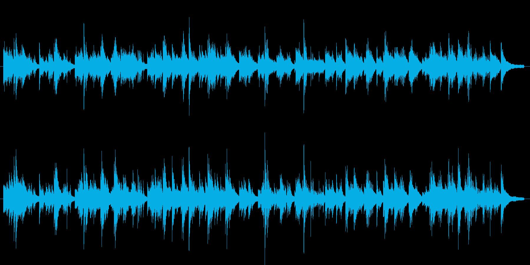バラード ピアノ インスト(オリジナル)の再生済みの波形
