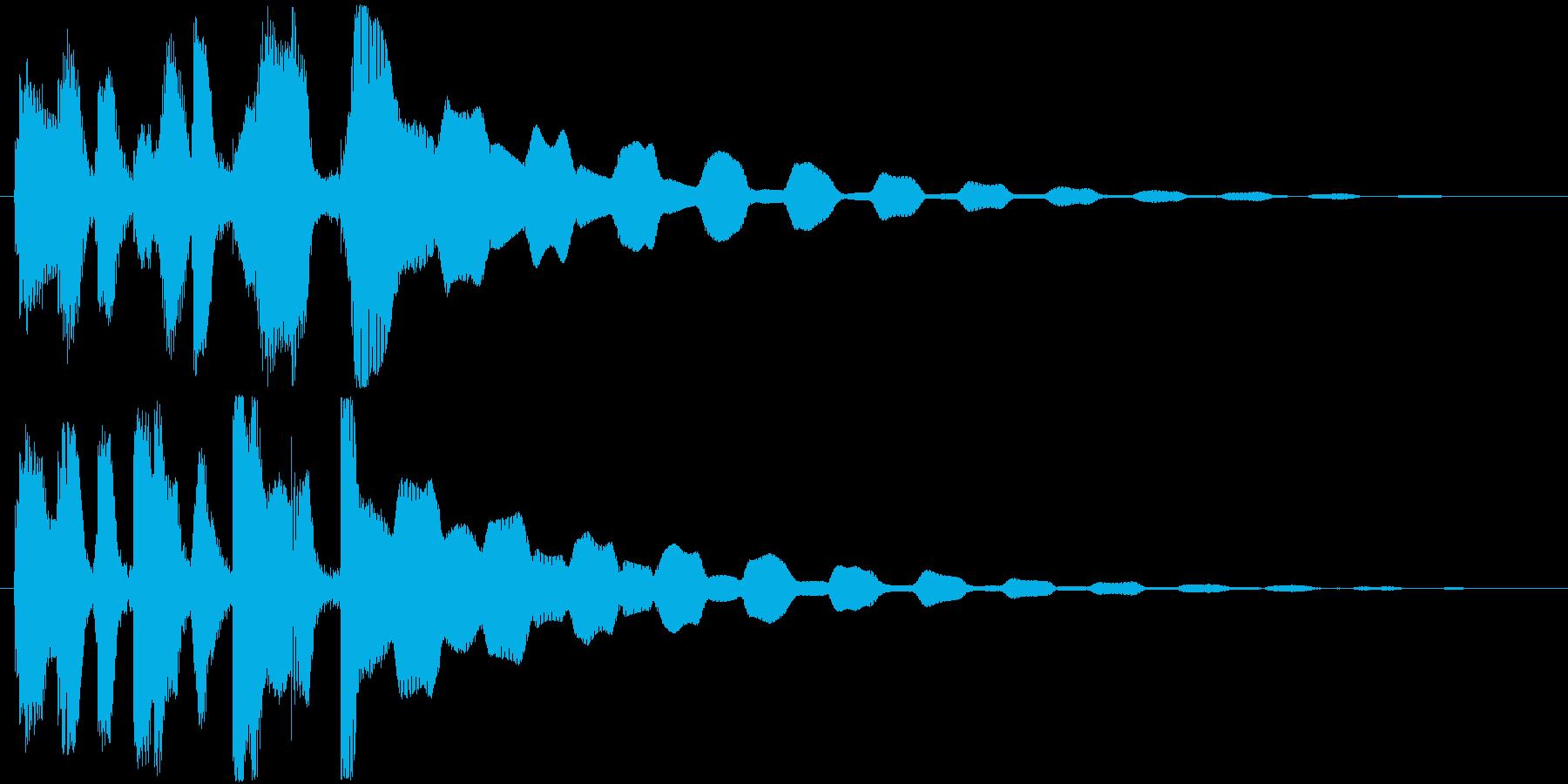 ジングル用途に制作しました。エレピです…の再生済みの波形