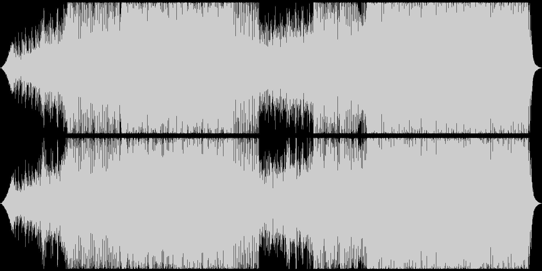 クラブ/ハウス/プログレッシブの未再生の波形