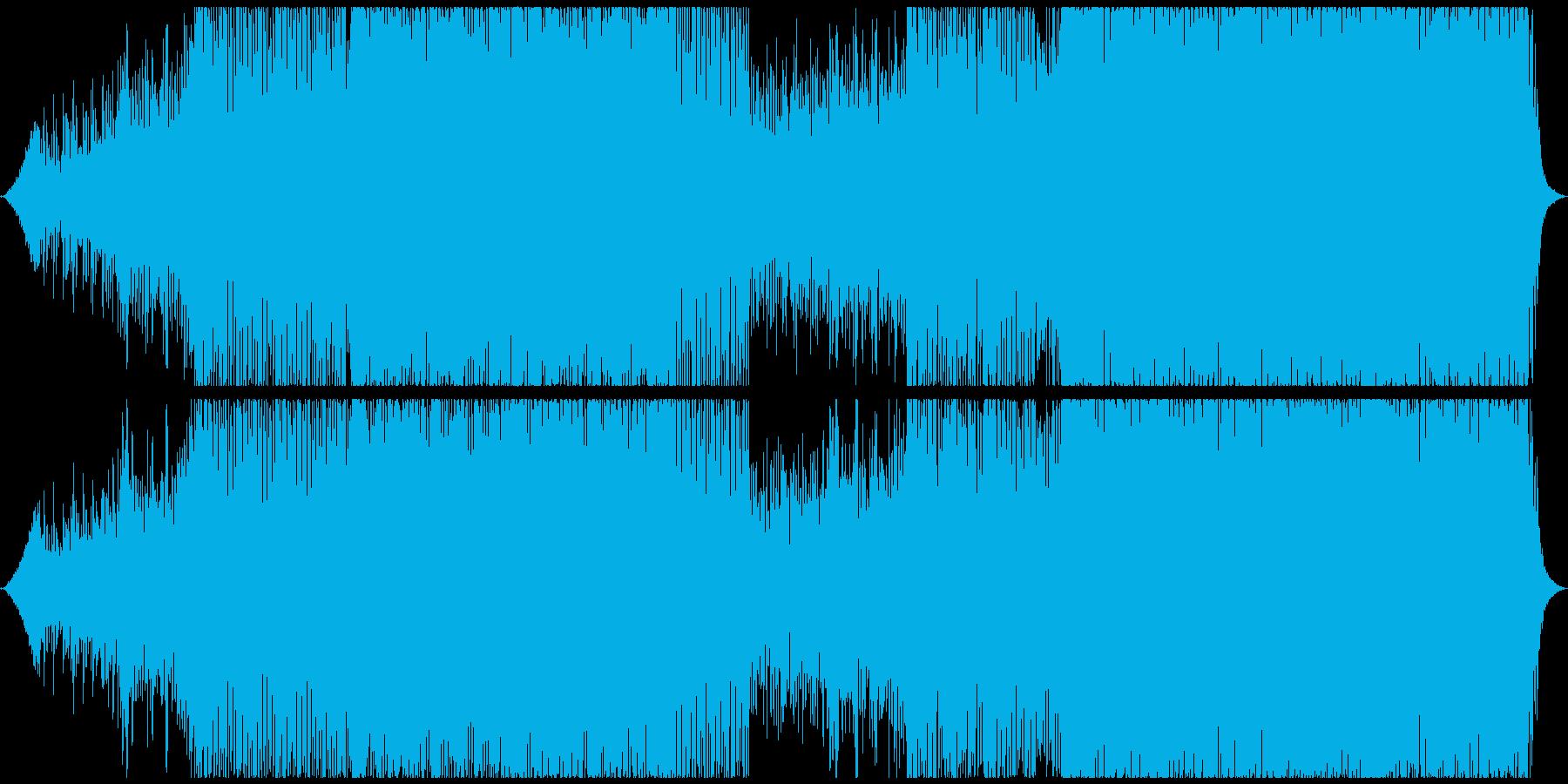 クラブ/ハウス/プログレッシブの再生済みの波形