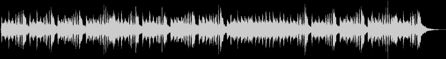 アコーディオンとストリングスのジングルの未再生の波形