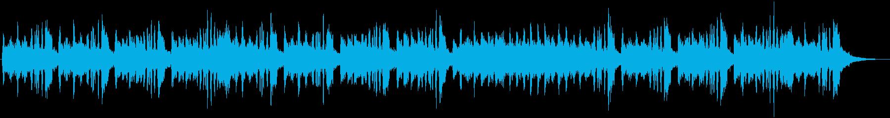 アコーディオンとストリングスのジングルの再生済みの波形