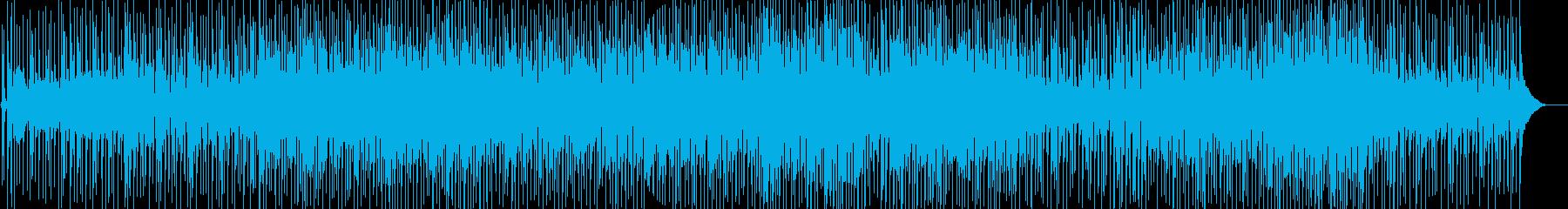 ほのぼのとして落ち着いたギターポップスの再生済みの波形