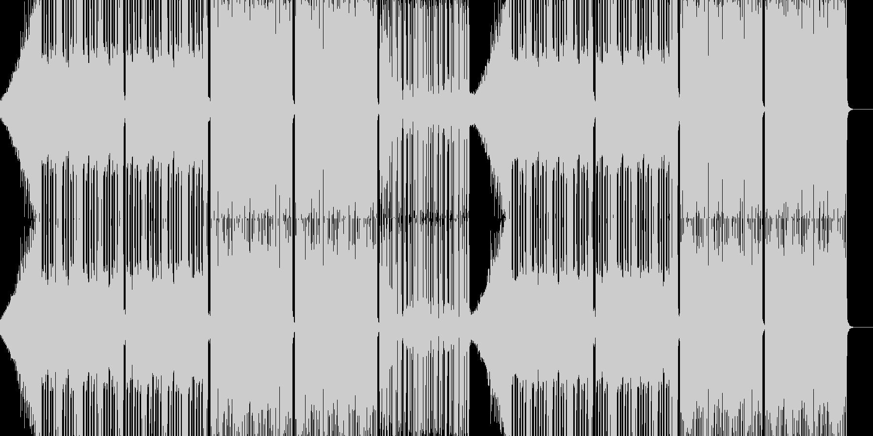 dubstep edmの要素をふんだん…の未再生の波形