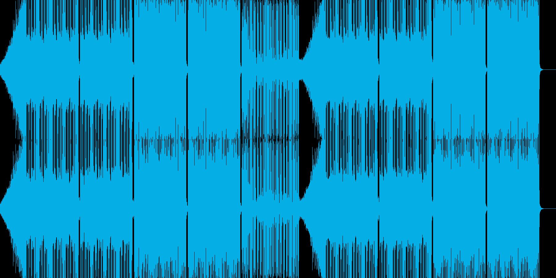 dubstep edmの要素をふんだん…の再生済みの波形