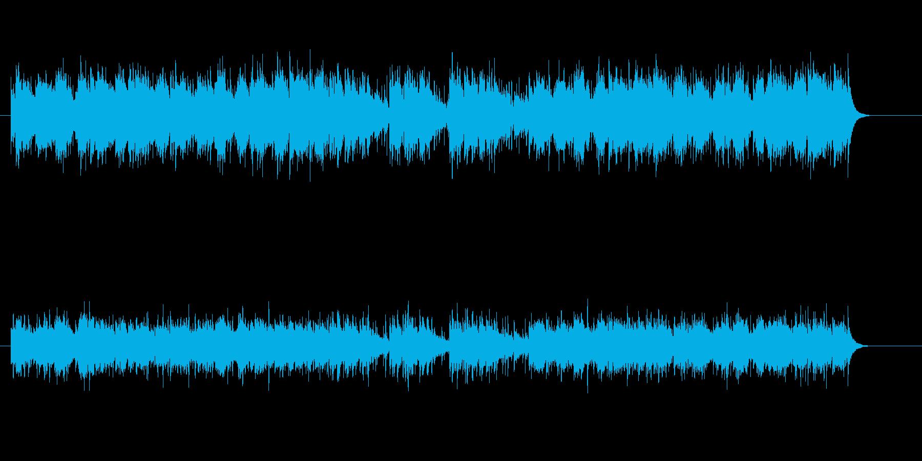 納涼民族音楽風の再生済みの波形