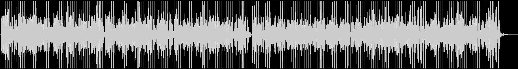 リズミカルで元気なBGMの未再生の波形