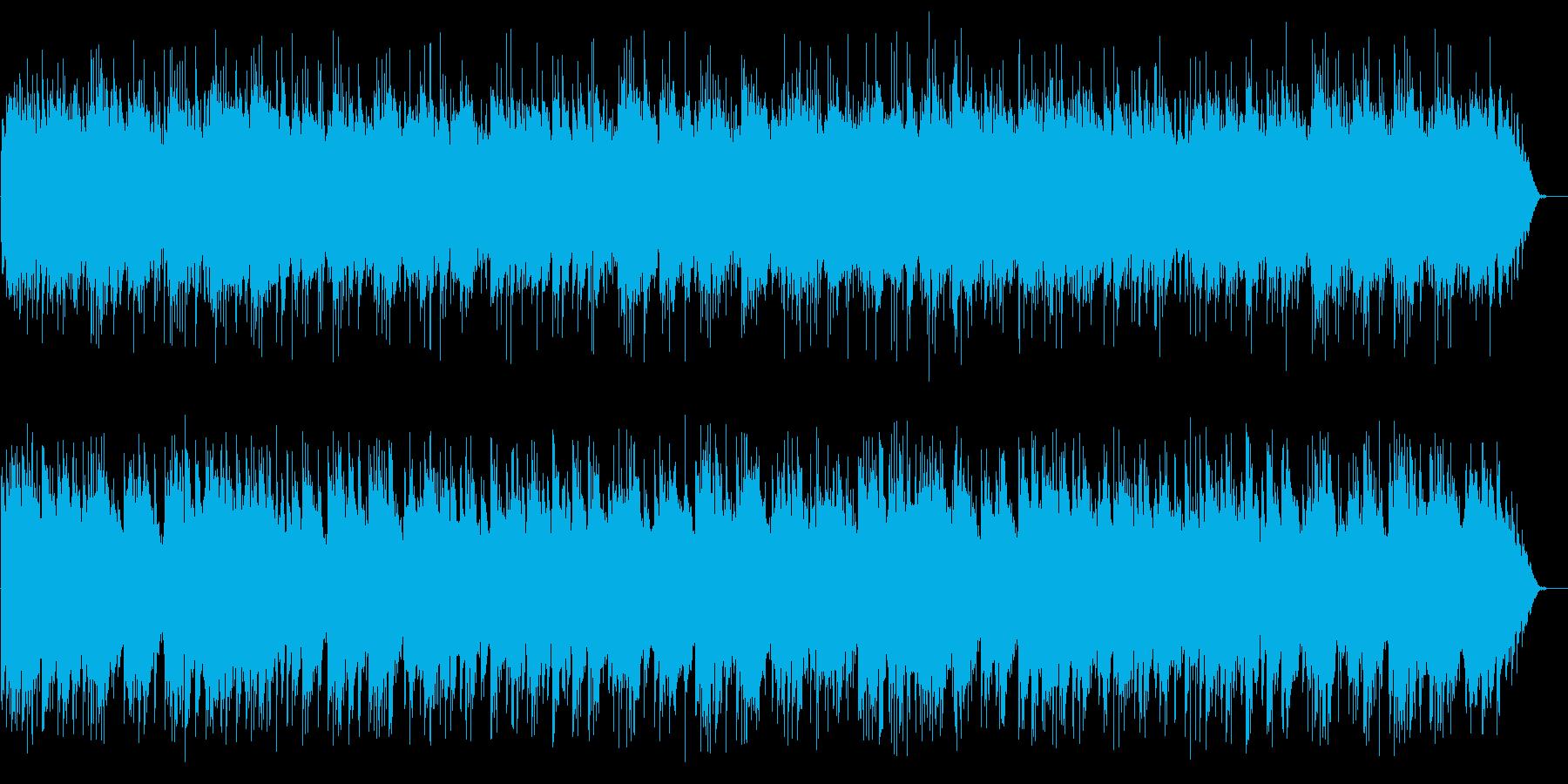 ゆったり爽やかギターシンセサウンドの再生済みの波形